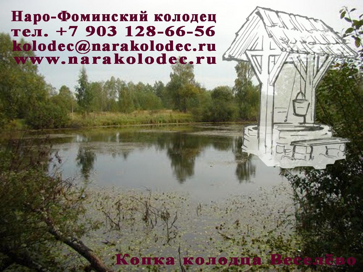 Копка колодцев в Веселёво
